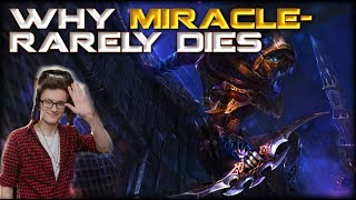 How to Die Less as a Carry in Dota 2: Why Miracle