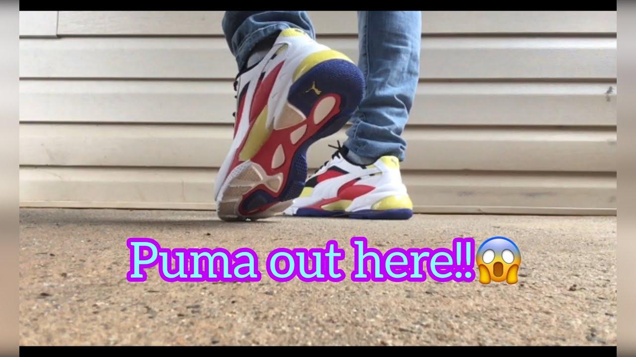 Puma lqd cell epsilon | on foot overview