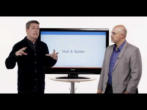 The Hub & Spoke principle in business