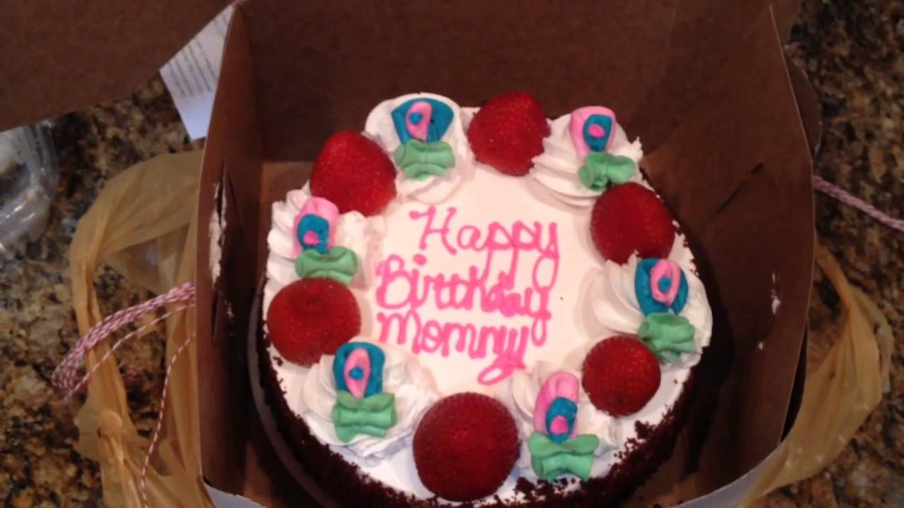 Happy Birthday Mommy Cake Mom