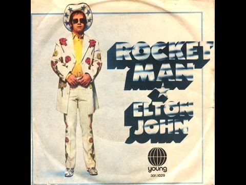 Elton John  Rocket Man 1972 With Lyrics!