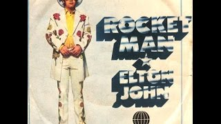 Elton John - Rocket Man (1972) With Lyrics!