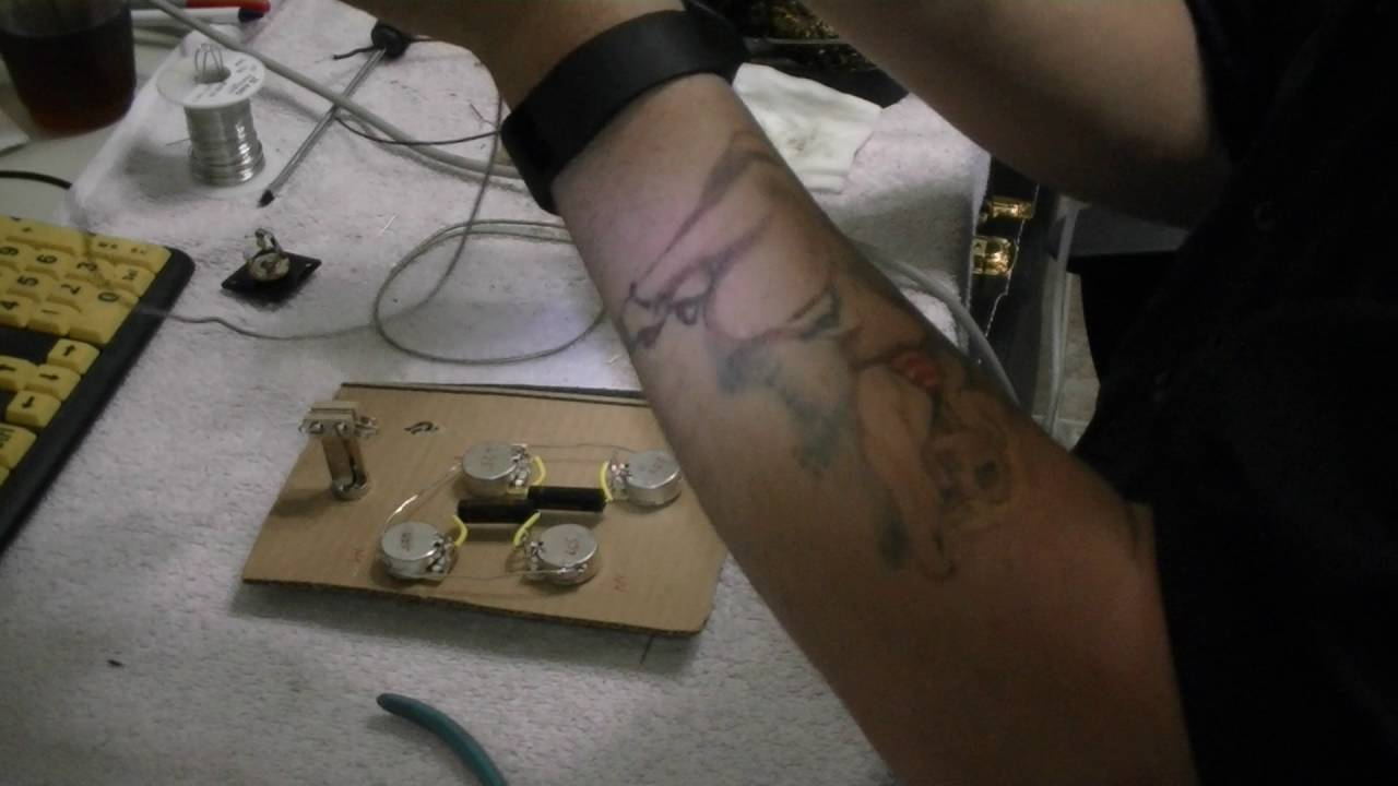 Rts The Ultimate Les Paul Mod Pt 4 Building A Wiring