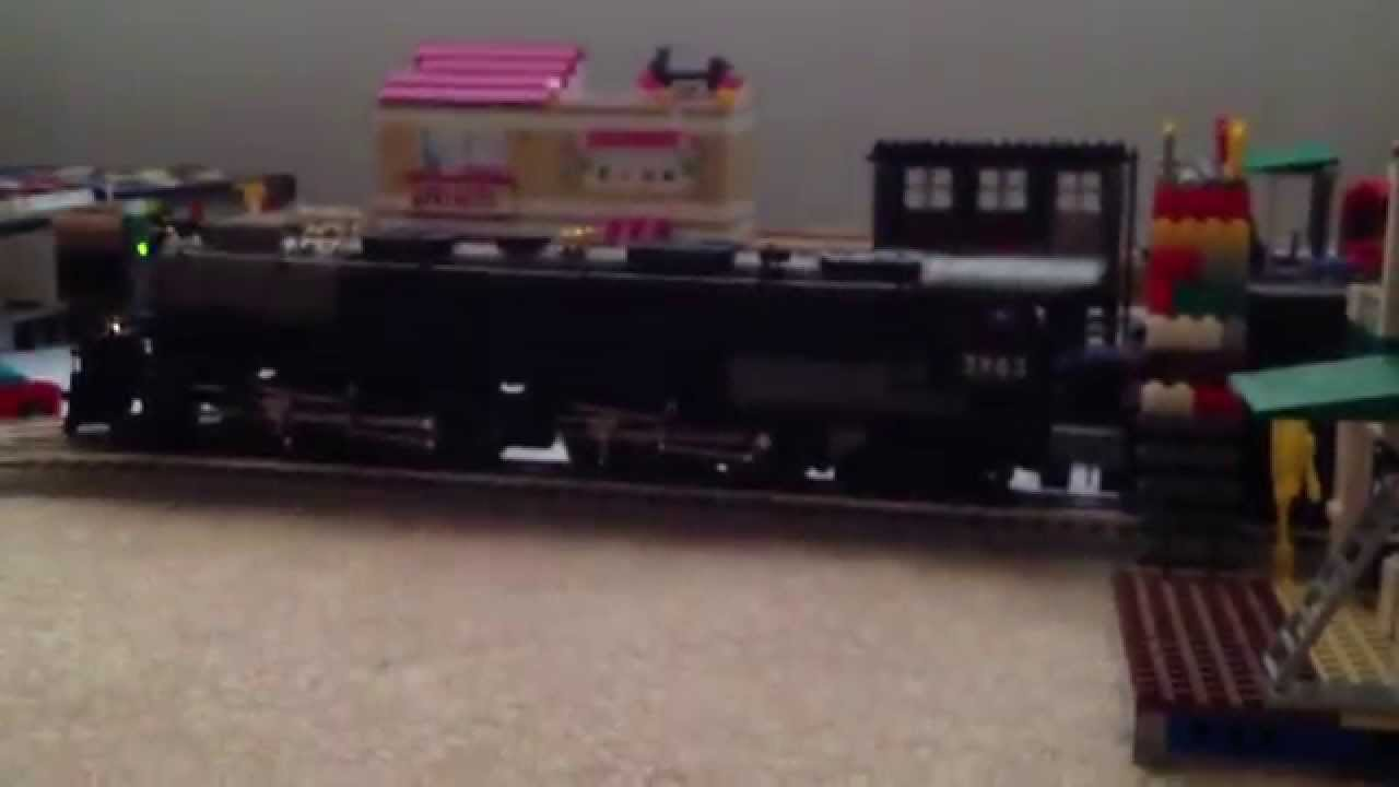 Lionel lionmaster 4-6-6-4 Union Pacific challenger review - YouTube