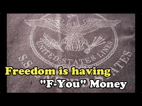 "Scavenger Life Episode 231: Freedom is Having ""F-You"" Money"