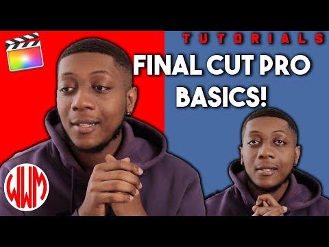 FINAL CUT BASICS! (Part 1)