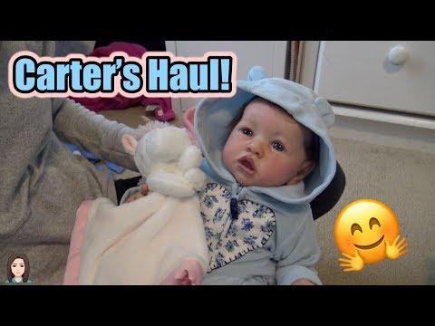 Online Carter's Haul For Reborn Babies! | Kelli Maple