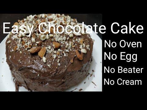 Chocolate Cake Recipe in Tamil   How to Make Cake in Tamil ...