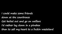Ryan Bingham Depression lyrics