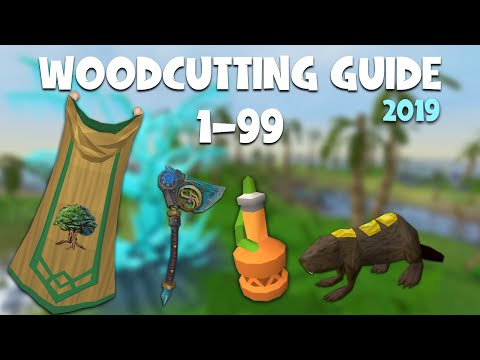 RuneScape 3 | 1 - 99 Woodcutting Guide | Up To Date 2019 | Fast And AFK Methods