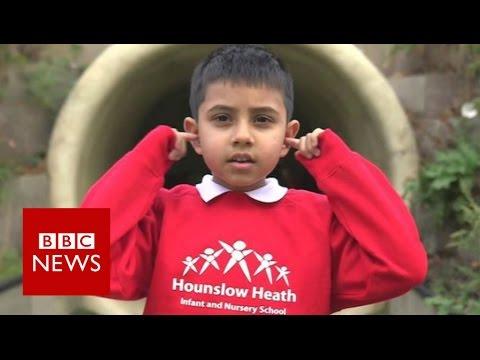 Growing up under Heathrow's flightpath - BBC News