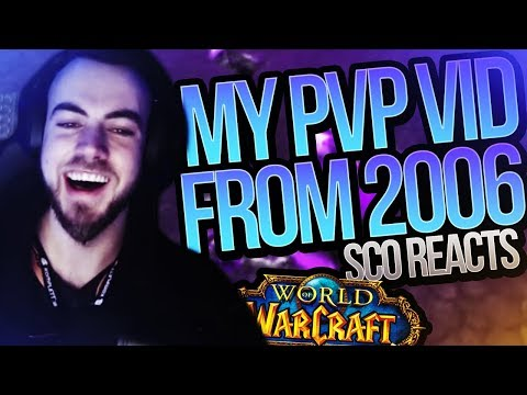 "REACTING TO MY 2006 VANILLA PVP VIDEO!  ""Sco and his MoM"" (Reaction)"
