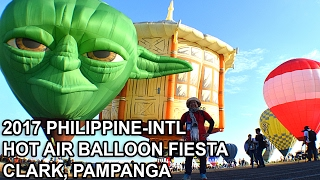 VLOGGING AT THE PHILIPPINE HOT AIR BALLOON FIESTA 2017