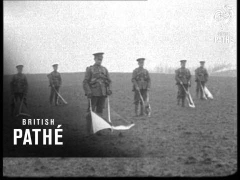 Signalmen Training Semaphore (1914-1918)