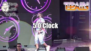 T-Pain - 5 O'Clock (Six Flags Fiesta Texas, San Antonio TX 08/30/2019) HD