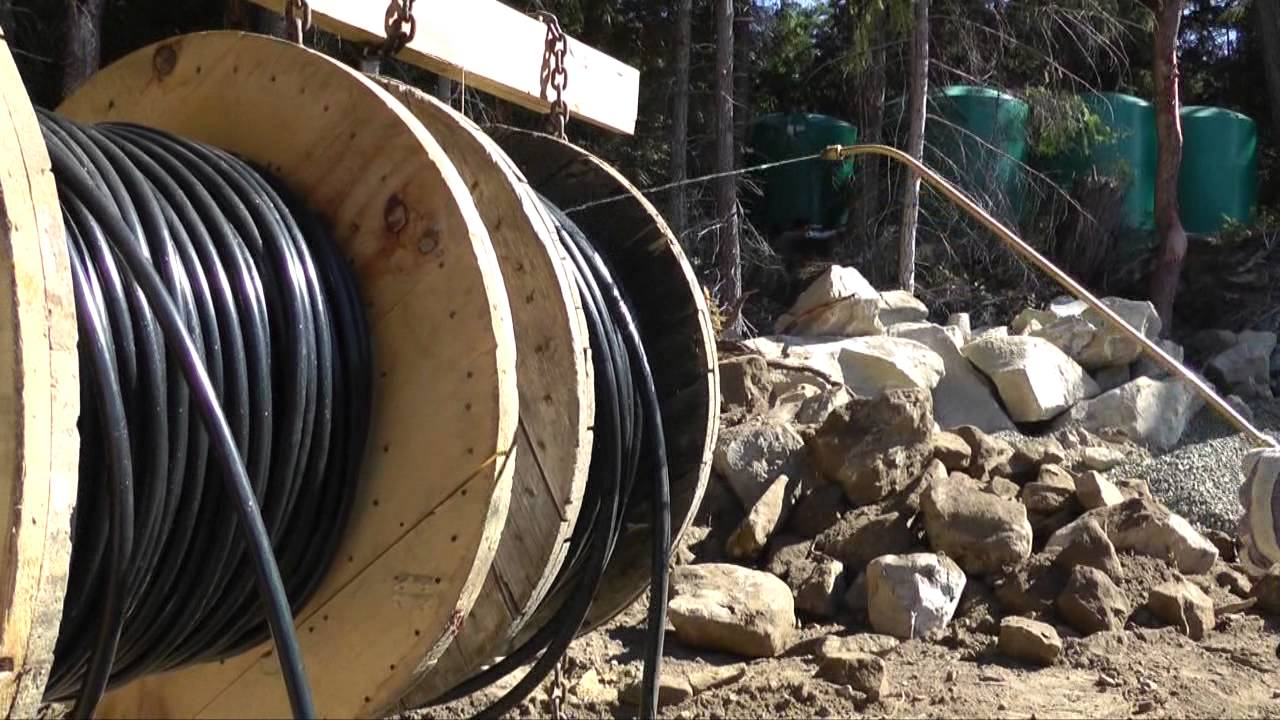 Mayne Island Cable Pull - YouTube