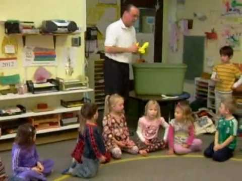 The Boomerang Man at West Seattle Montessori