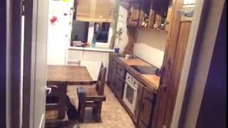 Кухня из дерева под старину фирмы АБАЖУР podstarinu ru 8 950 5999959 г  Кемерово(Кухня из натурального дерева ( сосны ) под старину с элементами ковки. Установлена в новую квартиру панельно..., 2013-07-18T14:03:31.000Z)