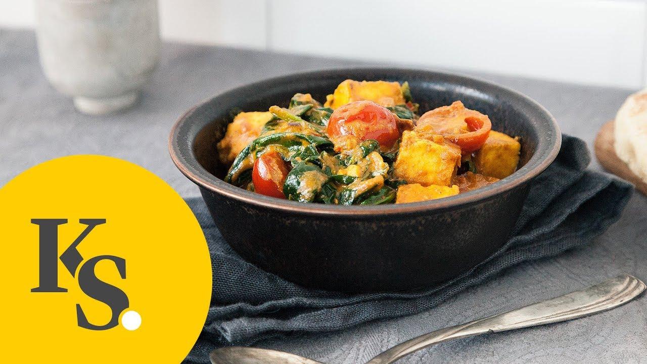Palak Paneer | Indische Küche | Vegetarische Gerichte - YouTube
