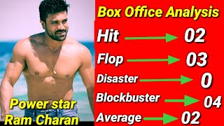 Ram Charan All Movies List, Hits And Flops Box Office Collection Records & Analysis