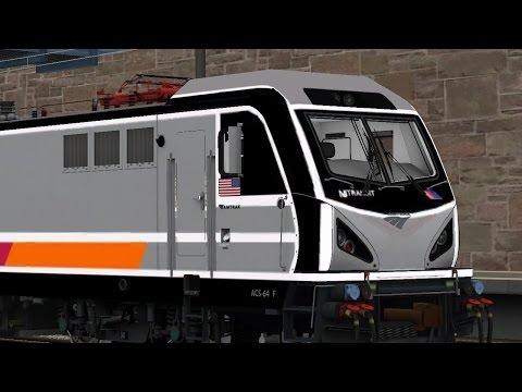 Train Simulator 2016:NJT ACS-64 New Rochelle to New York Penn