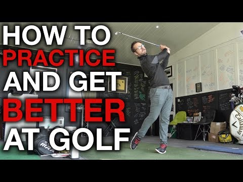 How To Practice And Get Better At Golf