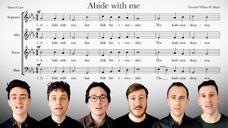 Sing along with The King's Singers: Abide with me