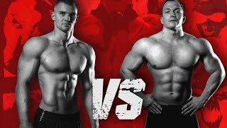 Street Workout VS Powerlifting - STRENGTH WARS 2k15 #9(Street workout, Calisthenics athlete Adam Raw fights Powerlifting athlete Romano Rengel in this last insane and long-awaited STRENGTH WARS battle in 2k15., 2015-12-24T17:00:20.000Z)