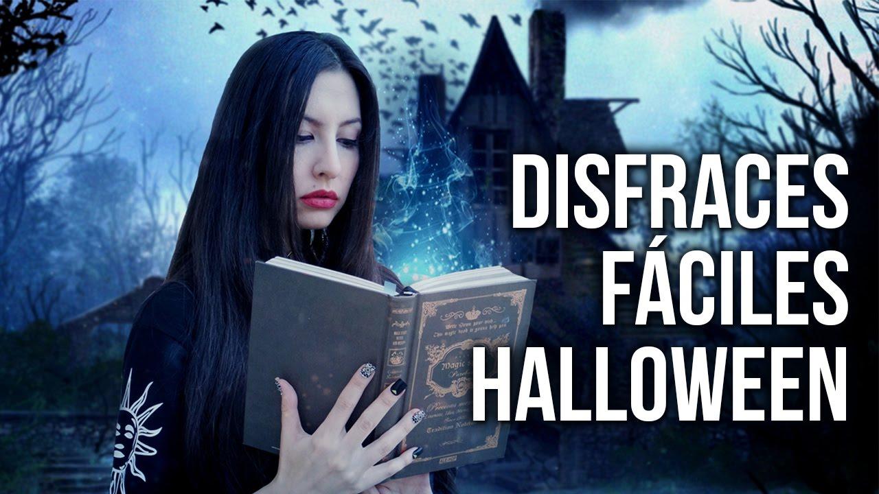 Disfraces Caseros Para Halloween   3 Ideas Para Vestirse Rápidamente |  Lookbook   YouTube