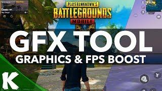 PUBG MOBILE | GFX TOOL | Boost Graphics & Performance | 60 FPS