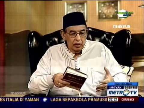 1433H Surat #9 At Taubah Ayat 1-10 - Tafsir Al Mishbah MetroTV 2012
