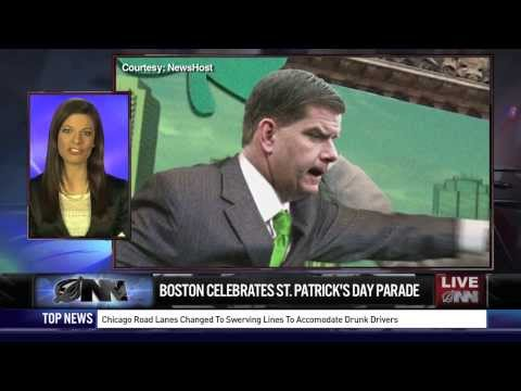 Boston Mayor Throws Out First Punch At St. Patrick