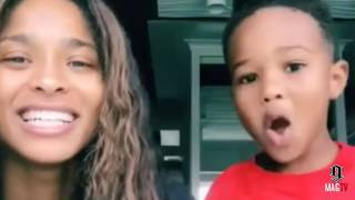 Ciara Teaches Son Future How To Sing And Dance (2018) Video
