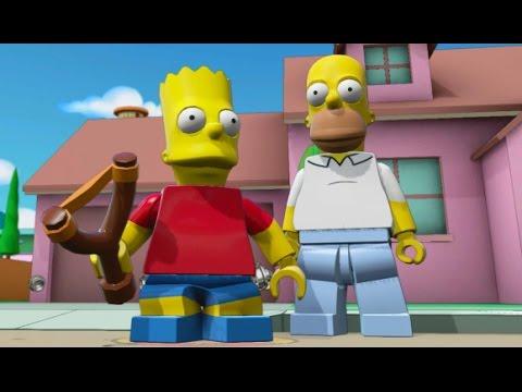 LEGO Dimensions – Bart Simpson Open World Free Roam (Character Showcase)