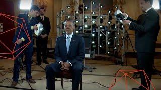 A Presidential 3D Portrait - 3D Scanning Barack Obama