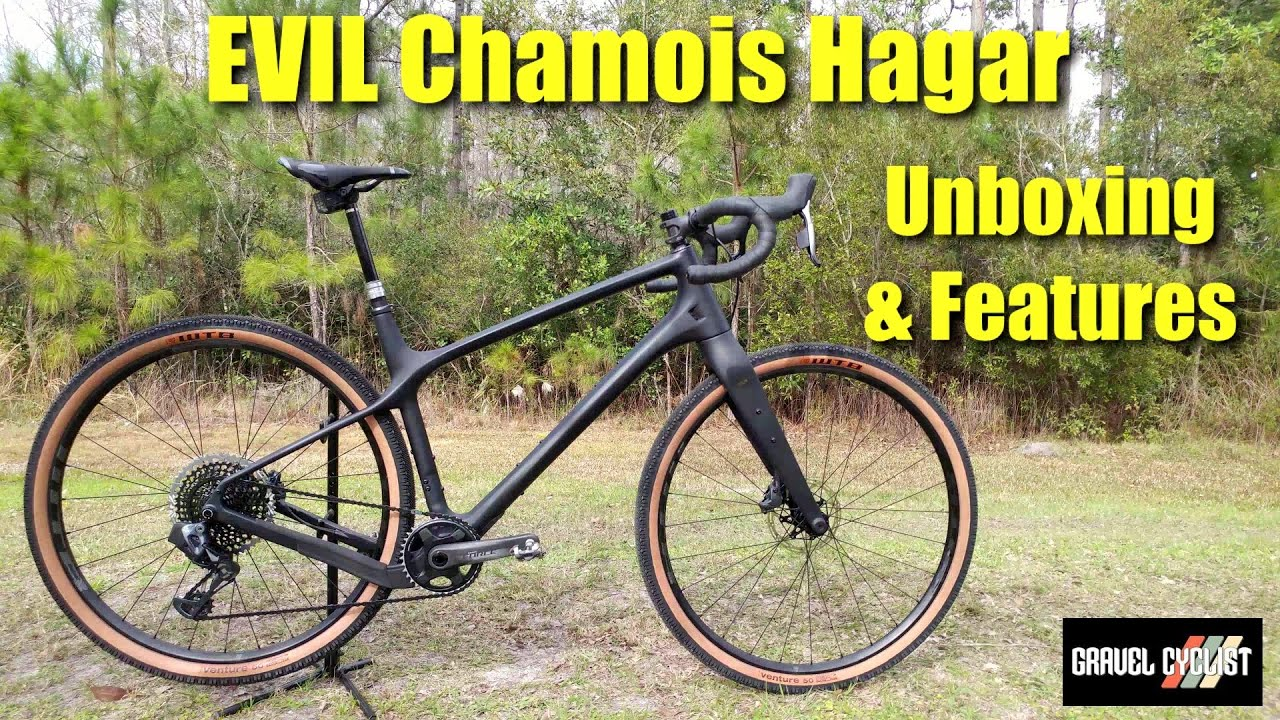 Evil Chamois Hagar Unboxing Features Of The Wildest Gravel Bike Youtube