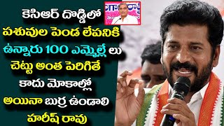 Mp Revanth Reddy  Powerful Comments On Harish Rao & KCR | #Telangana Politics | New Waves