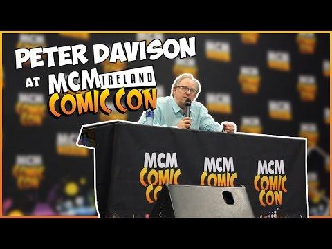 Peter Davison Panel at ComicCon Dublin!