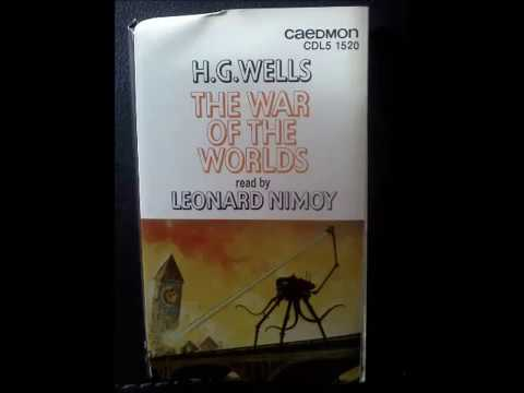 Leonard Nimoy reads the War of the Worlds (abridged part 1)
