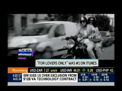 Stana Katic and Mark Polish  about For Lovers Only on Bloomberg West
