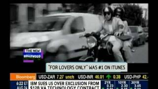 Stana Katic and Mark Polish Interview about For Lovers Only on Bloomberg West