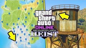 GEHEIMEN HACKER BEKOMMEN! - Alle Störsender finden! - GTA Online: Casino Heist DLC