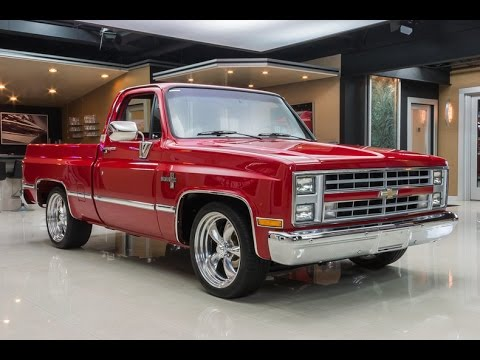 1985 chevrolet silverado for sale youtube. Black Bedroom Furniture Sets. Home Design Ideas