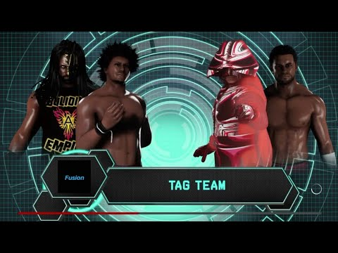 NWF Fusion  Jay Storm and Johnny Carter vs TJ Scott and Tyler Shields