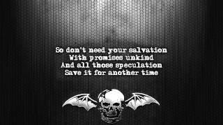 Avenged Sevenfold - Victim [Lyrics on screen] [Full HD]