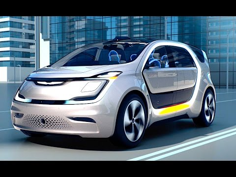 Chrysler Portal Autonomous Electric Car World Premiere CES 2017 Chrysler Electric CARJAM TV