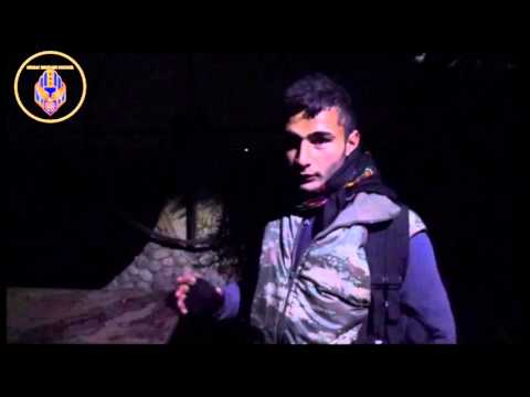 [1] Reportage with MFS fighters during a night guard in Khabour region