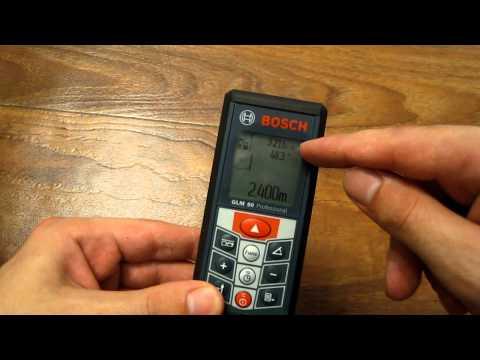 Видео обзор: Дальномер BOSCH GLM 80