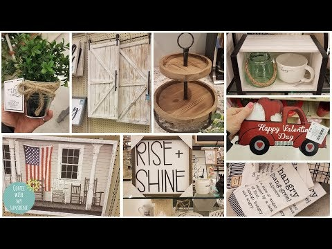 HOBBY LOBBY 2019 SHOP WITH ME & HAUL | FARMHOUSE | SRING | NEW | HOME DECOR SHOPPING | COME WITH ME