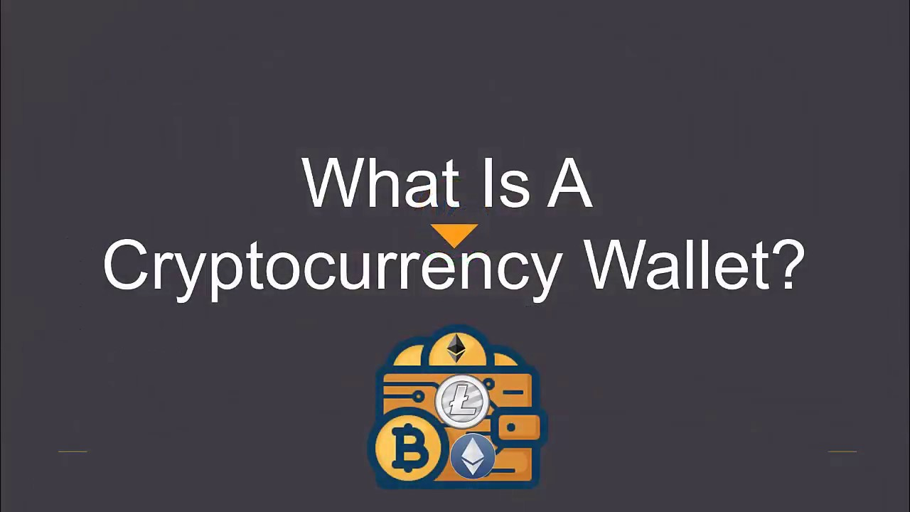 whats a cryptocurrency wallet